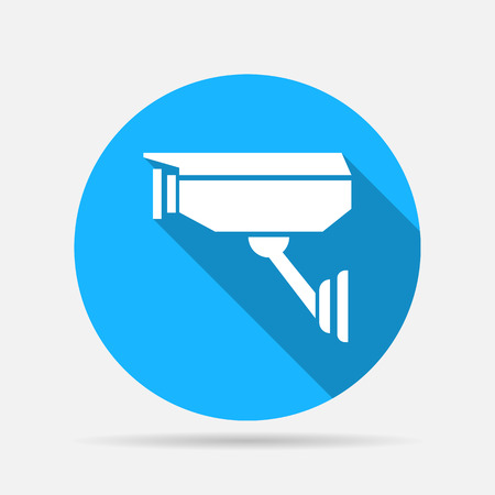 monitored area: CCTV camera icon