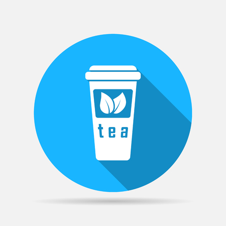 take out food container: Take-out teacup icon
