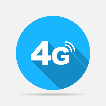4g mode technology icon