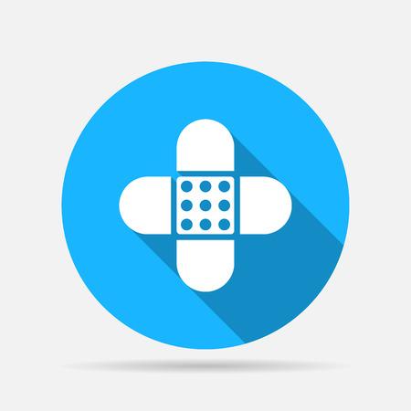 plaster: Bandage plaster icon