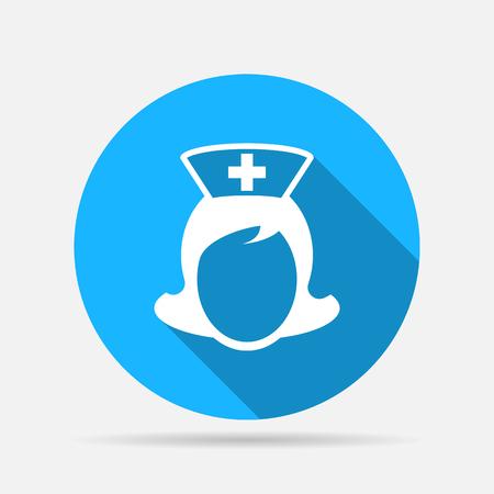 enfermeria: icono de enfermera