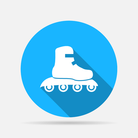 cut the competition: Roller skate icon
