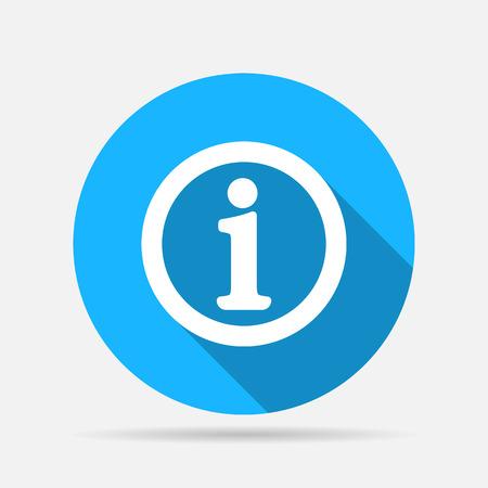 Panneau d'information icône