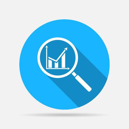 analysis icon Illustration