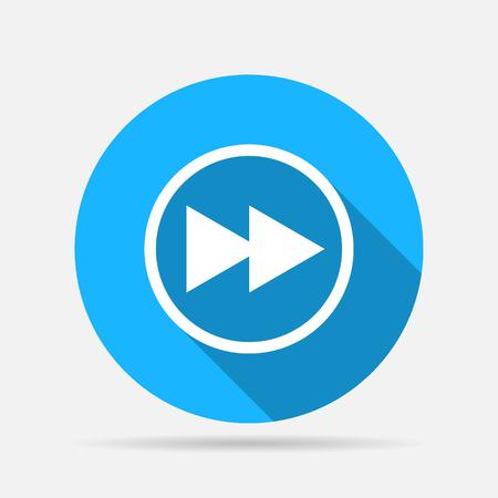 rewind: fast rewind media player icon