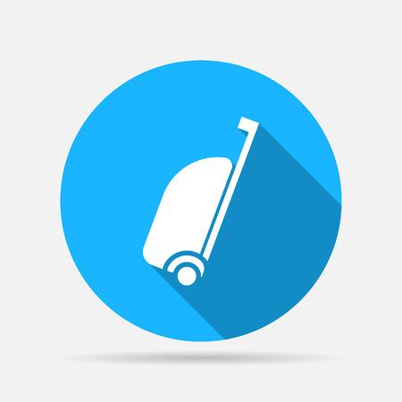 cipher: travel bag icon