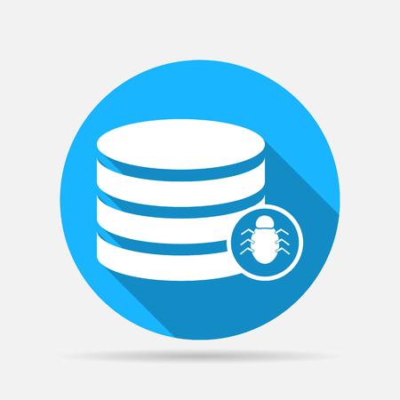protected database: bug database icon