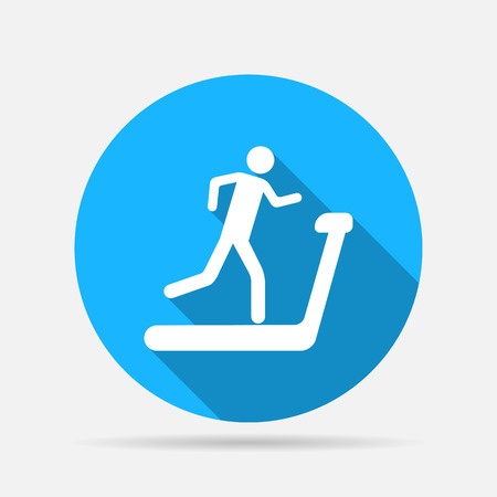 treadmill icon