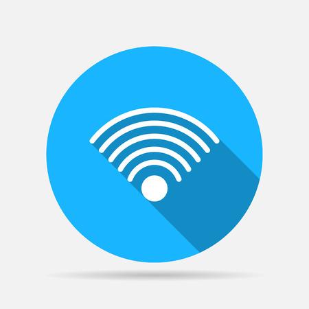 wifi icon: wi-fi icon Illustration