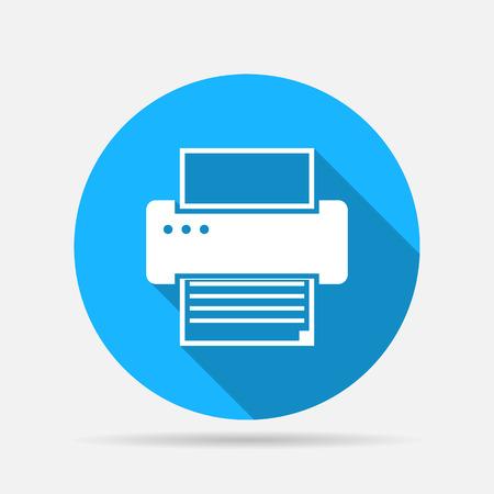 printer icon: printer icon Illustration