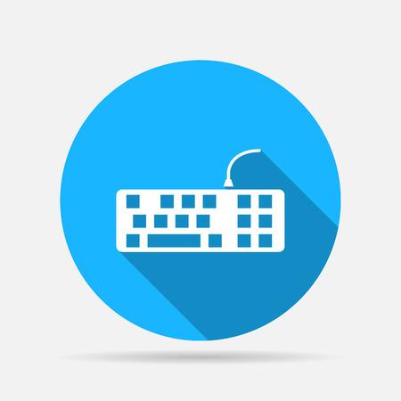 put the key: keyboard icon