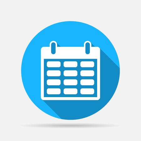 calendar icon Stock Illustratie