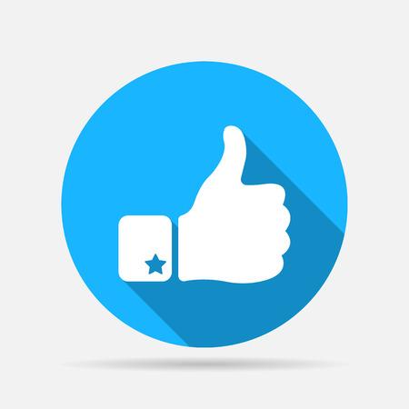 thumb up icon: Thumb Up Icon Illustration