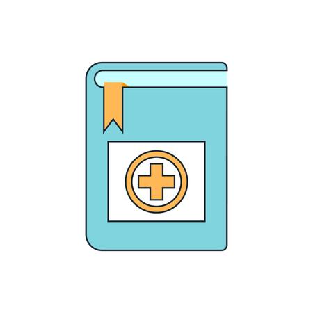 handbook: medical handbook Illustration