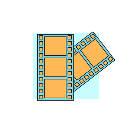 cinema strip: cinema icon
