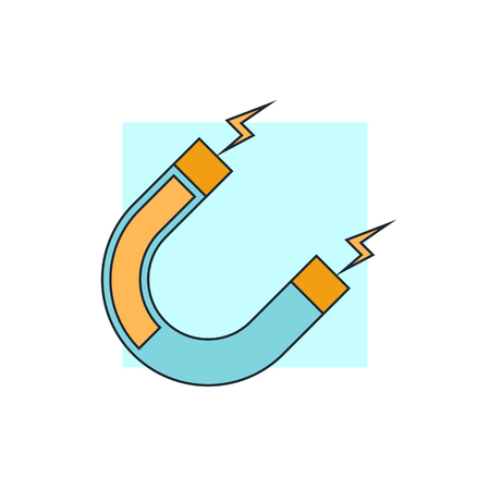 magnetite: magnet icon