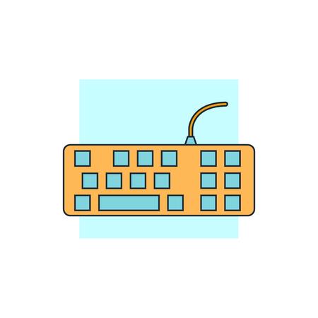 teclado: icono de teclado