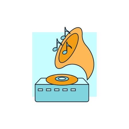 gramaphone: gramophone icon