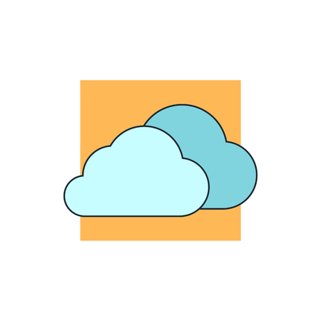 simplus: clouds icon