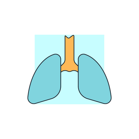 lung: lungs icon