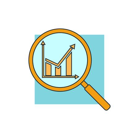 analysis icon Ilustração Vetorial