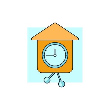 timekeeper: wall clock icon