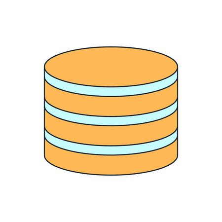 hard drive: database icon