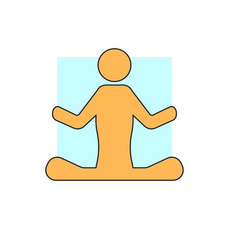 contestant: yoga sign icon