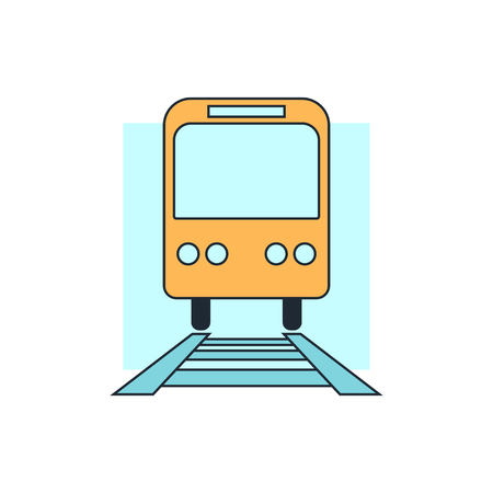 treno espresso: Icona treno