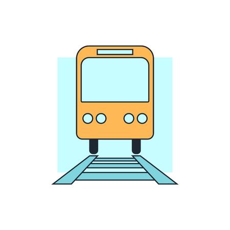 estacion de tren: icono de tren