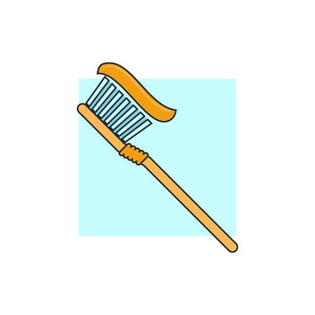 toothbrush: Toothbrush icon Illustration
