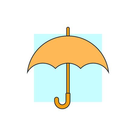 umbrella: umbrella icon
