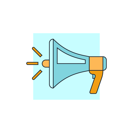 megafono: icono de megáfono