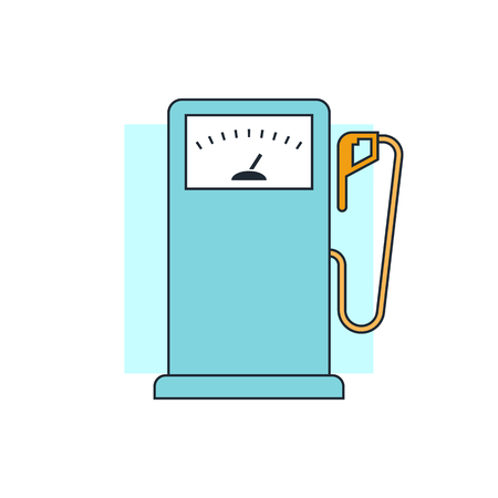 car gas: Gas Station sign icon