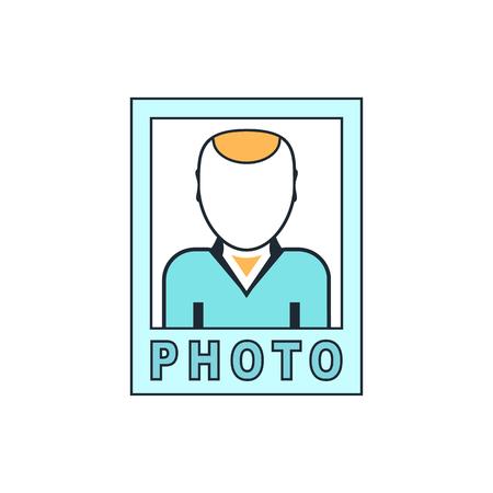 an avatar: avatar photo icon Illustration