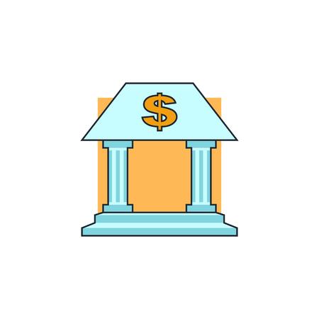 bank icon Banco de Imagens - 50664725