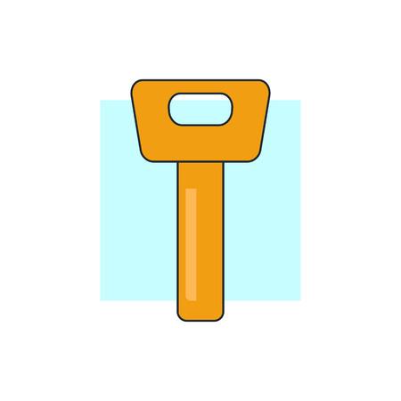 latchkey: Key icon