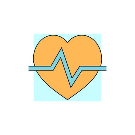 cardioid: heart cardiology icon