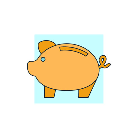 piggy bank money: money piggy icon