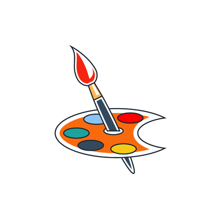 sketchpad: Paint brush icon