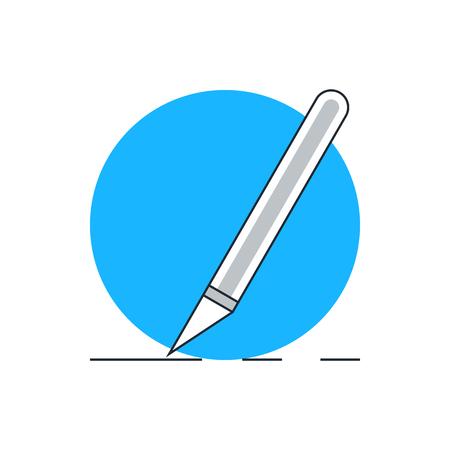 cerebrum: Scalpel cut icon