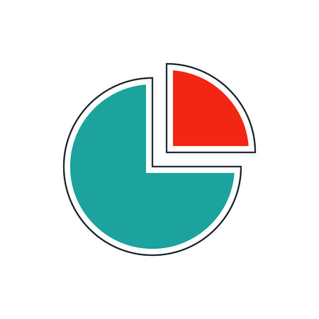 increment: chart icon Illustration