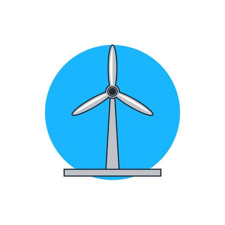 windmill: windmill icon Illustration