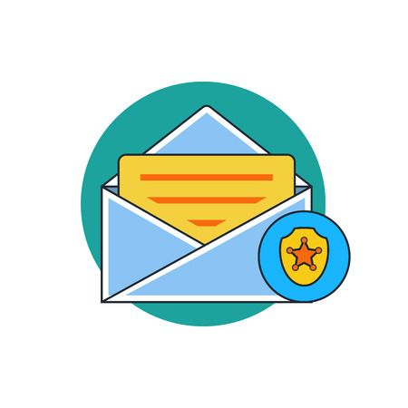 by mail: protection mail icon