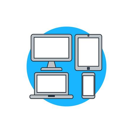 responsieve web design icoon