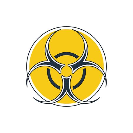 hazard sign: bio hazard sign Illustration