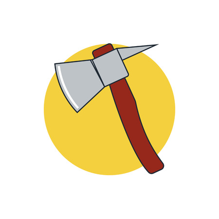 the ax: fire ax icon