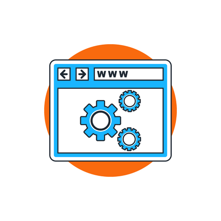 web: web optimization icon
