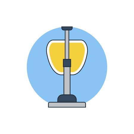 electric broom: vacuum cleaner icon