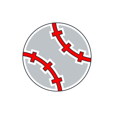 hardball: Baseball Icon Illustration